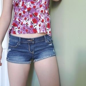 HOLLISTER low Rise booty shorts
